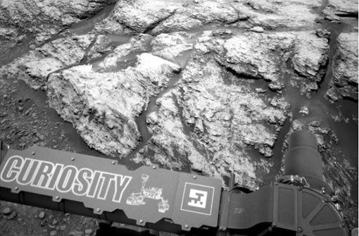 Roboter findet Hinweise für mögliches Leben auf dem Mars