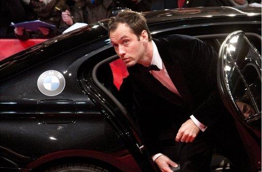 Wie Jude Law von den Paparazzi verfolgt wurde
