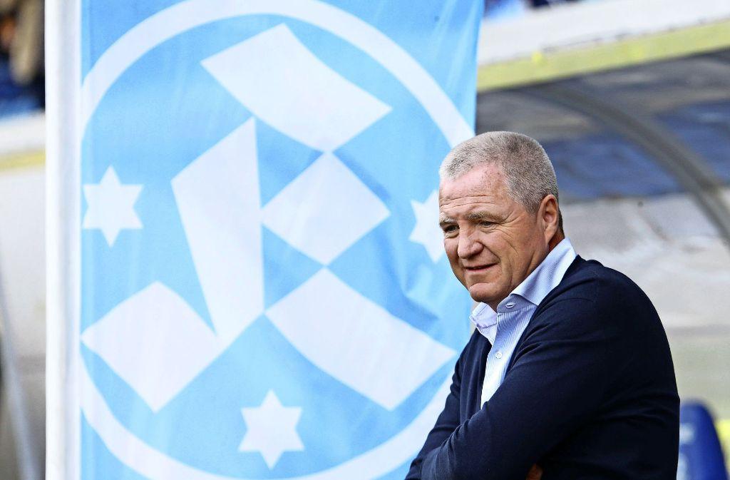 Zeigt in schwierigen Zeiten Flagge: Kickers-Präsident Rainer Lorz verzichtet genauso wie andere Gremienmitglieder auf zustehende Darlehensforderungen gegen den Verein. Foto: Baumann