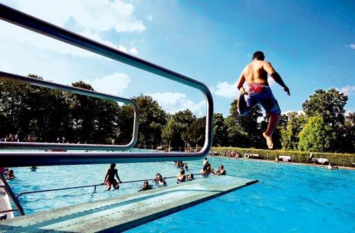 Ein Spaßbad ist nicht erwünscht