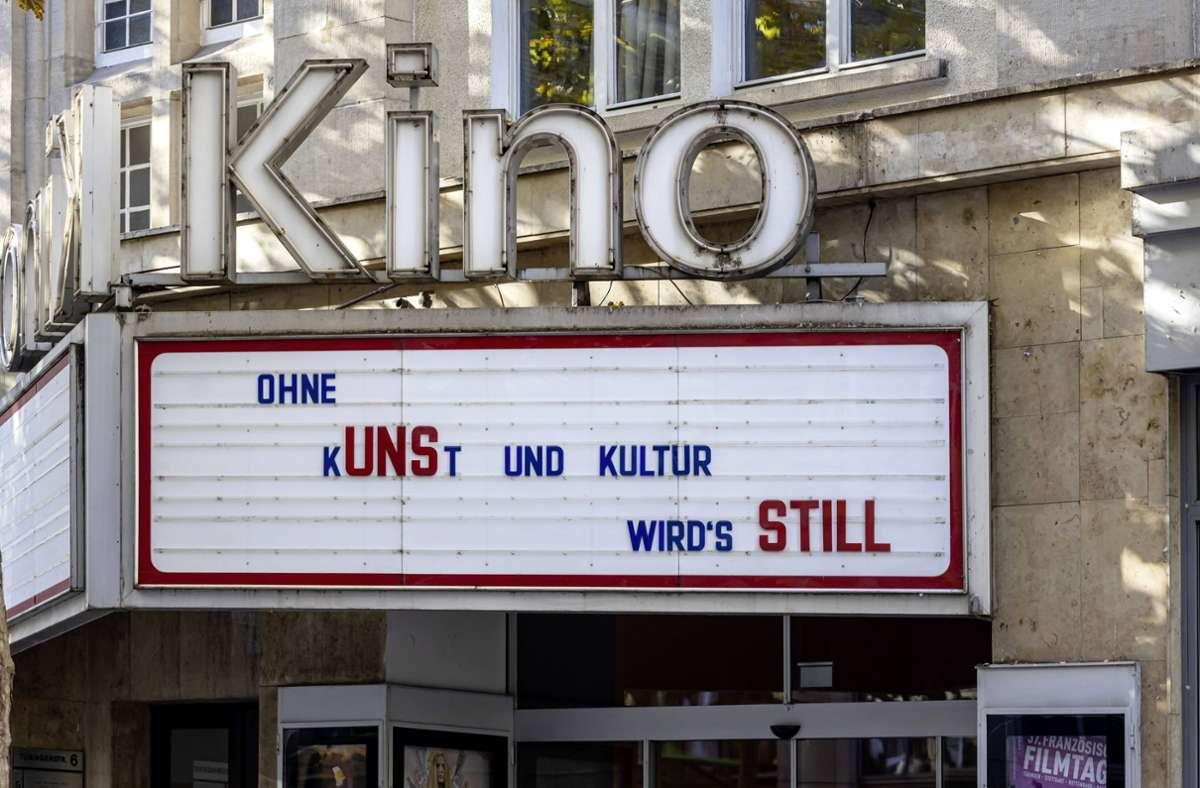 Auch das Delphi-Kino in Stuttgart fiebert der Wiedereröffnung entgegen. Foto: imago images/Arnulf Hettrich