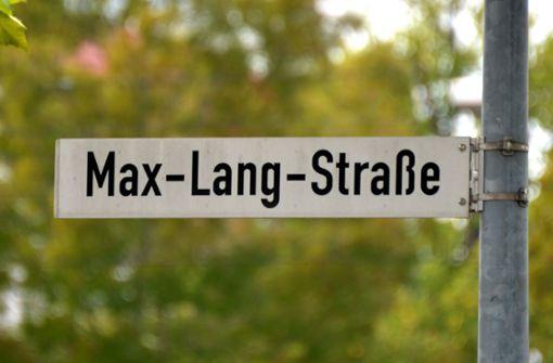 Die Max-Lang-Straße wird für eine lange Zeit gesperrt