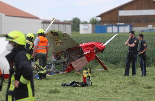 Pilot stirbt bei Absturz eines Segelflugzeuges