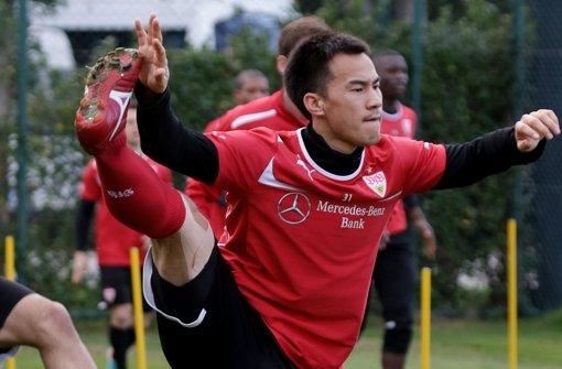 Shinji Okazaki traf im zweiten Test in Belek sein drittes Tor. Foto: Pressefoto Baumann