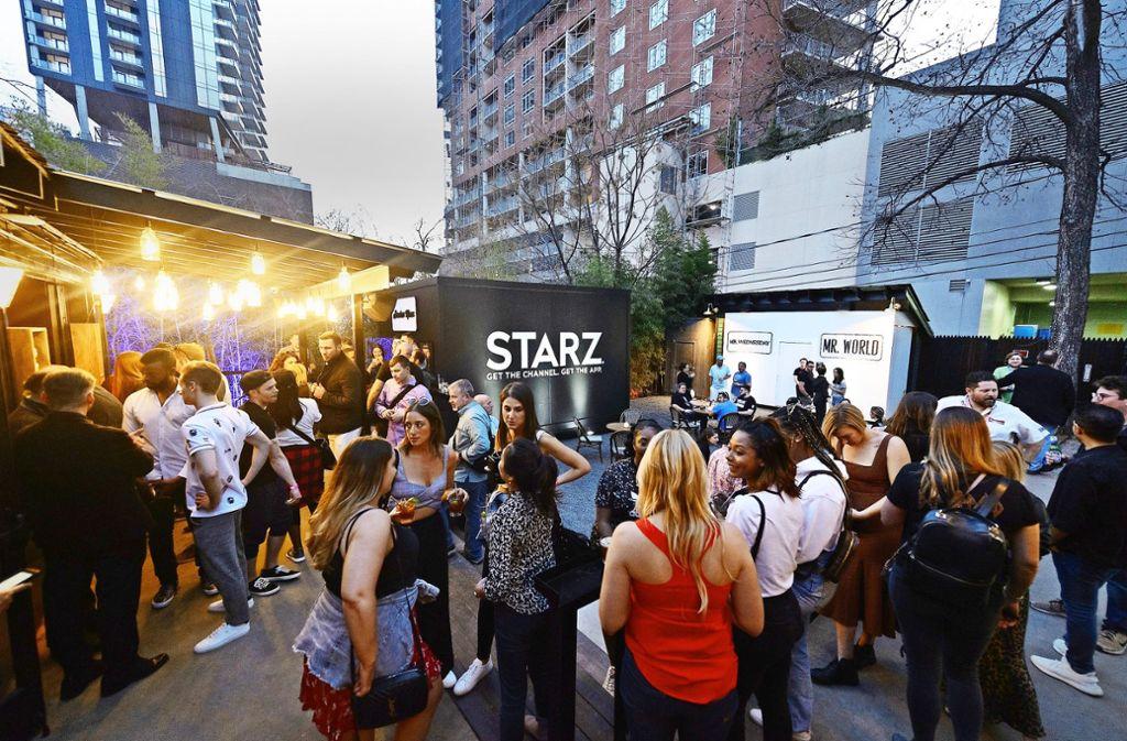 """Die """"Starz"""" von morgen? Auf dem South-by-Southwest-Festival in Austin präsentieren sich Gründer, Technikfans und  Kritiker der Internet-Giganten. Foto: Getty Images"""