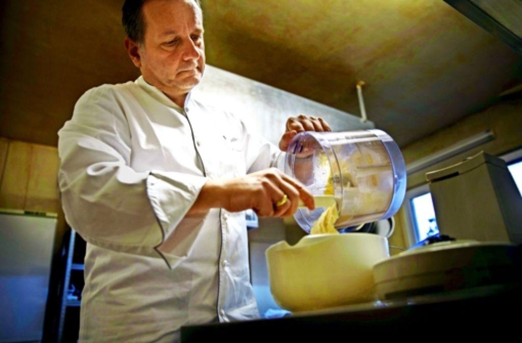 """Modern Greek Cuisine"" gibt es bei Joannis Malathounis. Foto: Gottfried Stoppel"