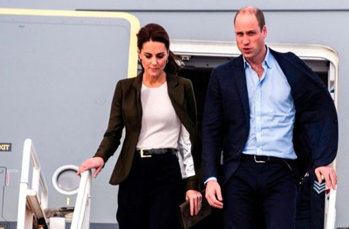 Prinz William und Herzogin Kate im Billigflieger