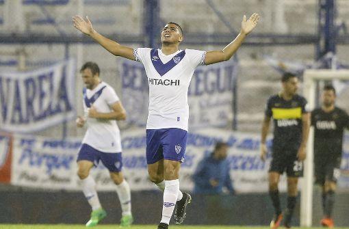 Maxi Romero im Anflug auf den VfB