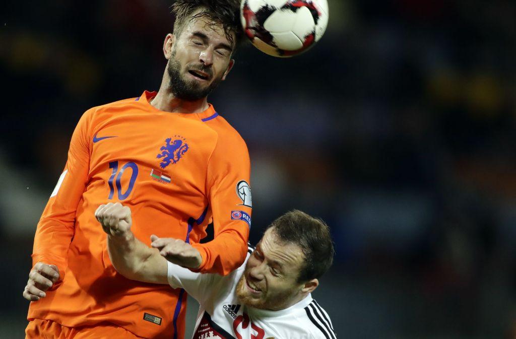 Die Fußball-WM in Russland findet vermutlich ohne die Niederlande statt. Foto: AP
