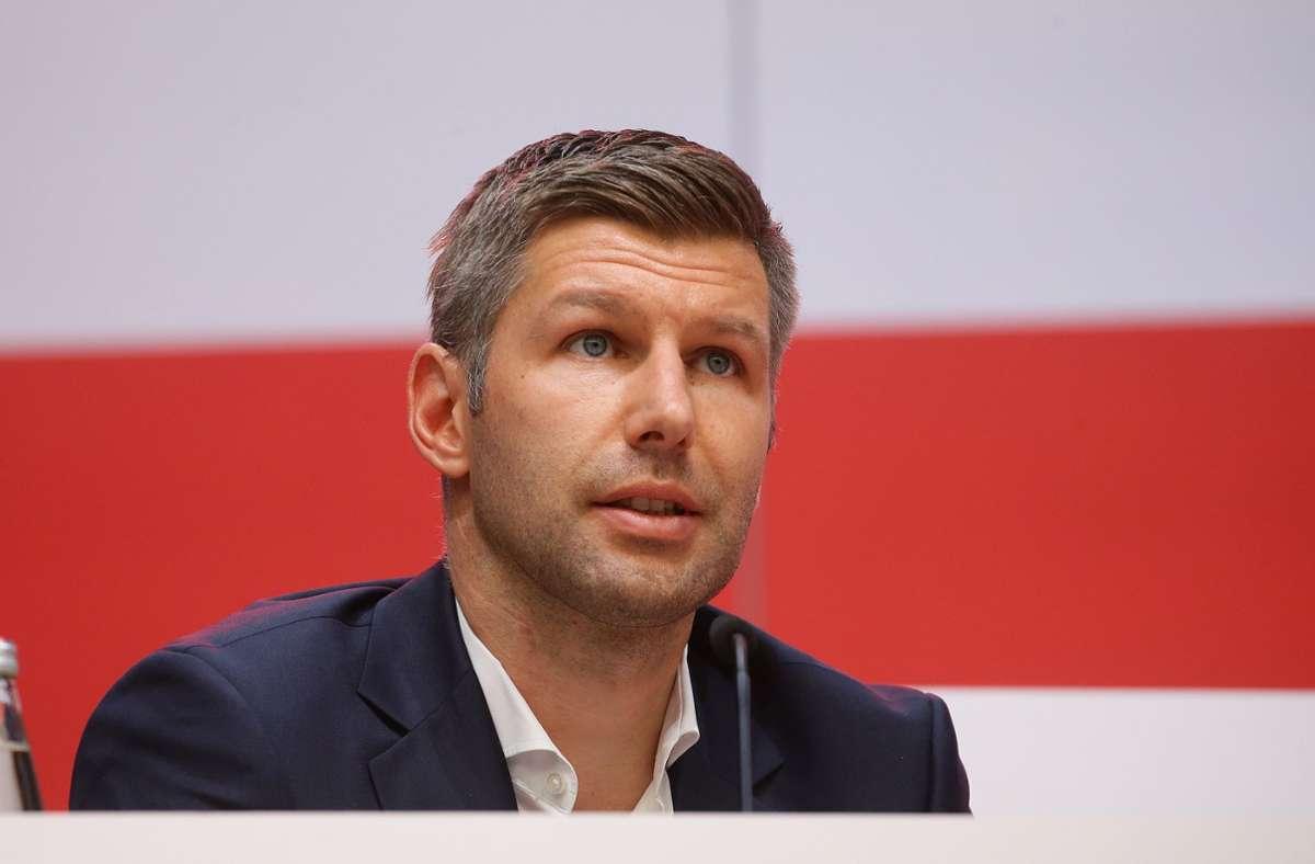 Thomas Hitzlsperger hat seine Entscheidung öffentlich gemacht, den VfB zu verlassen. Foto: Pressefoto Baumann/Hansjürgen Britsch