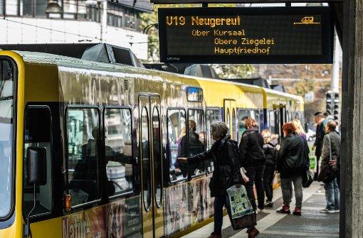 Busse und Bahnen nicht voller als sonst