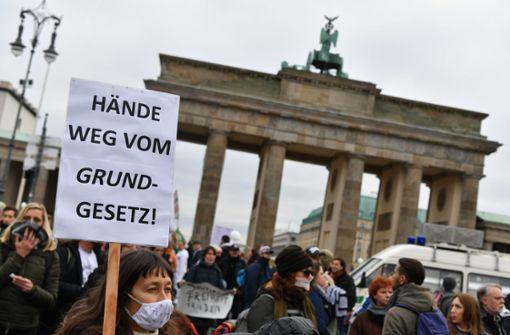 Bundestag steht unter massivem Polizeischutz