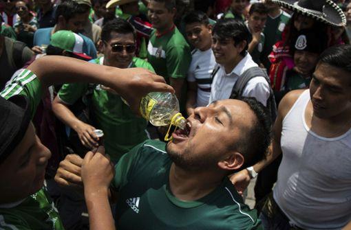 Mexikaner feiern Sieg gegen Deutschland frenetisch
