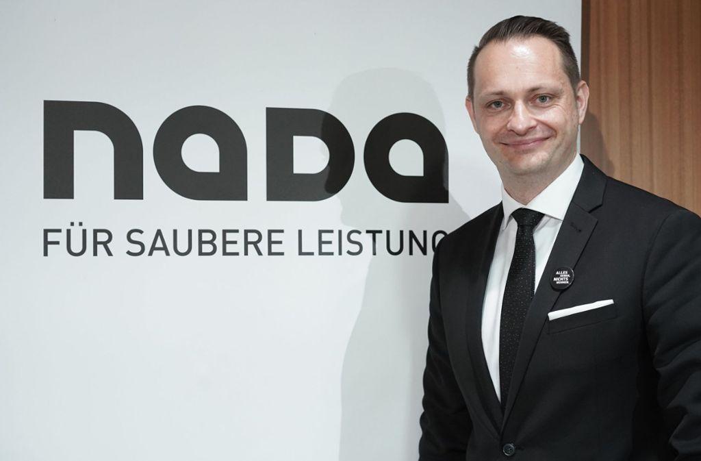 Vorstand der Nationalen Antidopingagentur: Lars Mortsiefer Foto: dpa