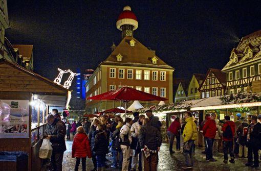 Schorndorf will Weihnachtswelt wagen