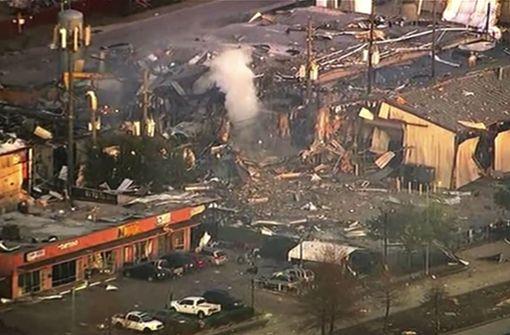Gewaltige Explosion erschüttert US-Metropole Houston