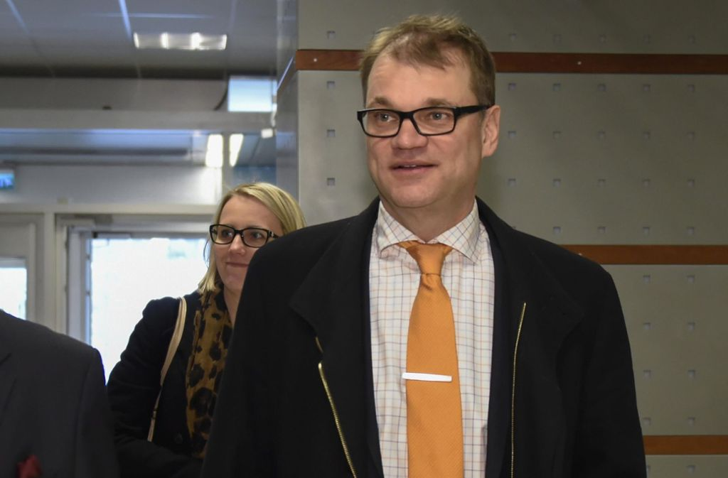 Regierungschef Juha Sipilä hat den Rücktritt für seine Regierung eingereicht. Foto: COMPIC