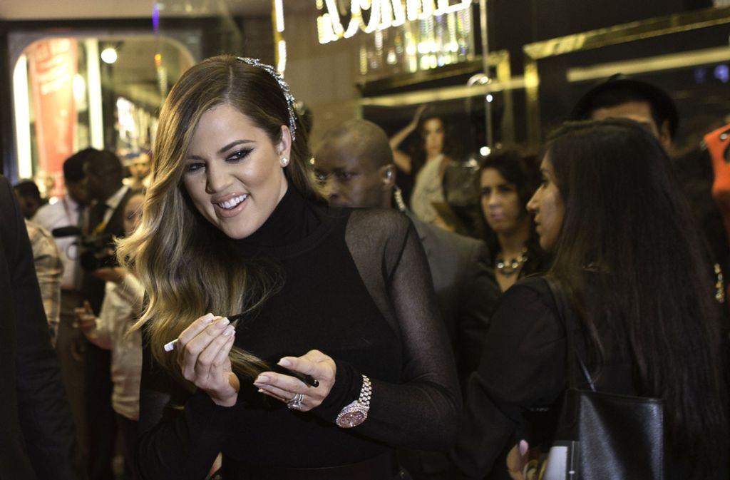 Die 33-jährige Khloé Kardashian ist zum ersten Mal Mutter geworden. Foto: Getty Images Europe