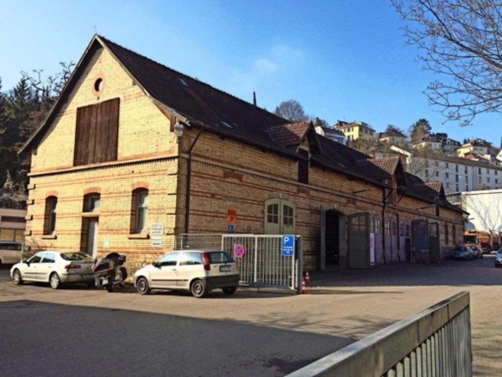 Unabhängig vom Rest des Betriebshofs soll der Pferdestall Bürgerhaus werden. Foto: Fritzsche