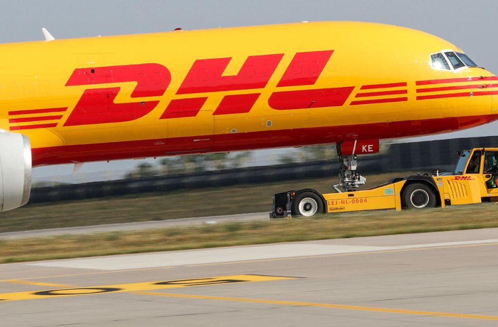 DHL baut seine Expressdienste künftig deutlich aus. Foto: dpa/Jan Woitas
