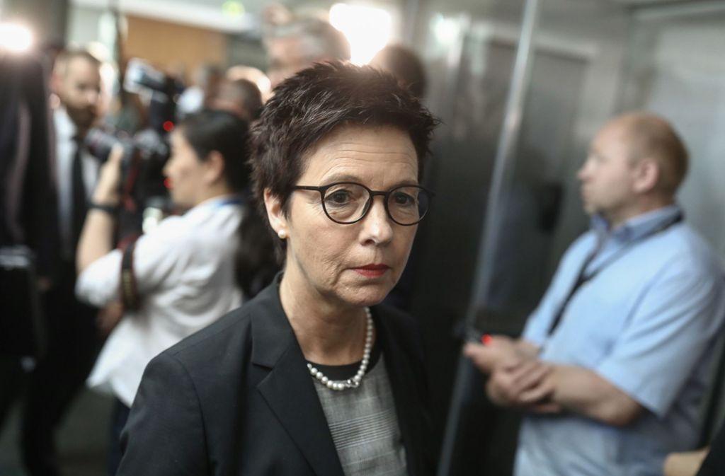 Jutta Cordt wechselt ins Innenministerium. Foto: dpa