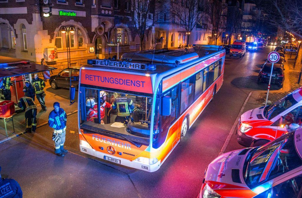 Der Rettungsdienst war mit zahlreichen Kräften im Einsatz. Foto: 7aktuell.de/ Gruber