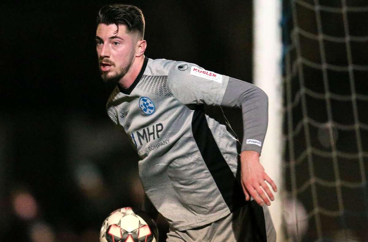 Wird nicht mehr für die Stuttgarter Kickers auflaufen: Nikola Trkulja. Foto: Pressefoto Baumann/Julia Rahn