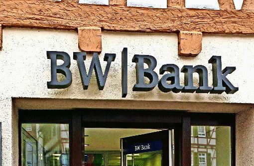 Die BW-Bank schließt Filiale am Marktplatz