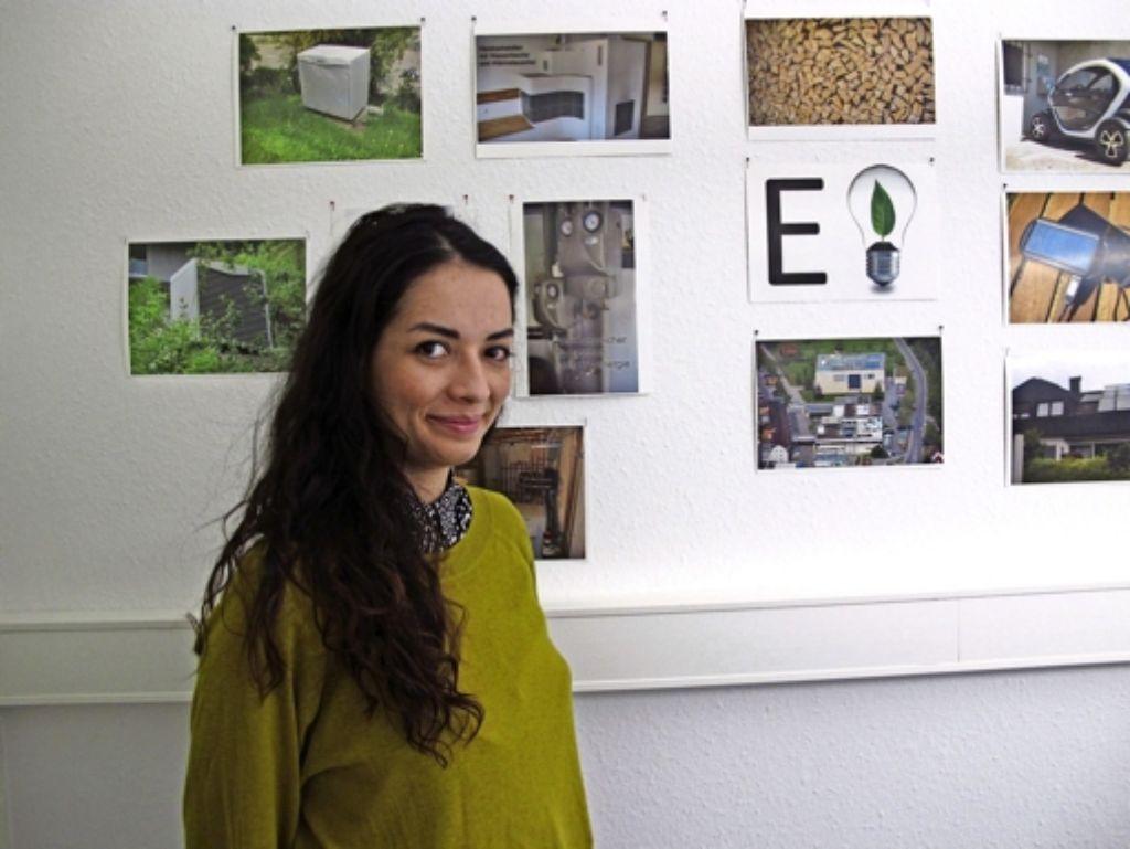 Die Energie- und Klimaschutzmanagerin Natalja Roizenzon sagt, dass Klimaschutz in Waldenbuch  gut ankommt. Foto: Malte Klein