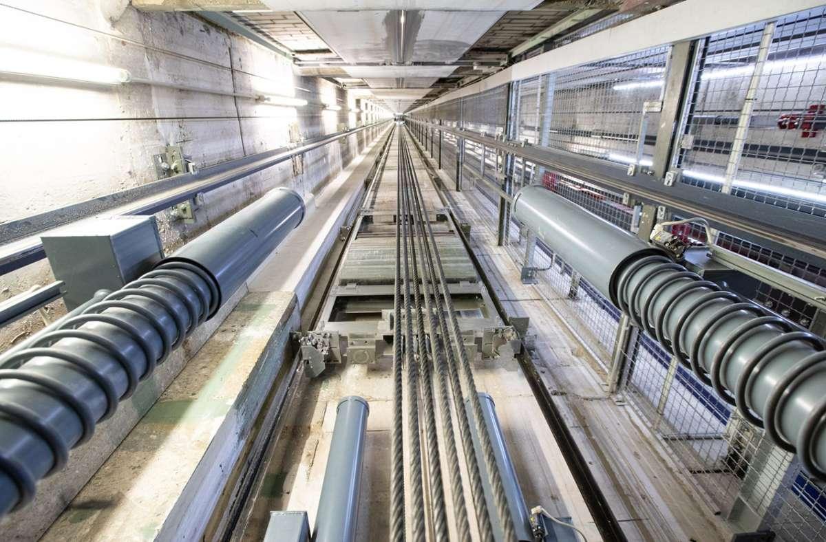 Thyssenkrupp hat ihre lukrative Aufzugssparte für 17,2 Milliarden Euro verkauft. Foto: dpa/Marcel Kusch