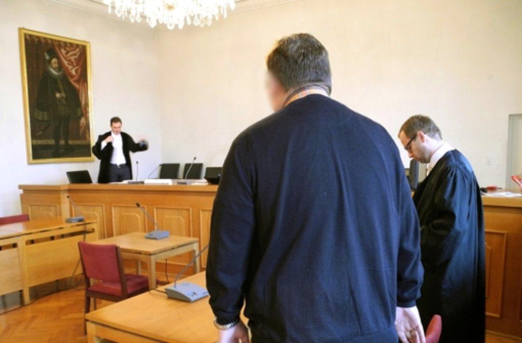 Der Angeklagte wurde vom Landgericht Ellwangen zu einer Bewährungsstrafe verurteilt. Foto: dpa