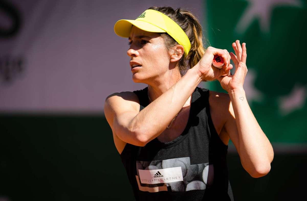 Andrea Petkovic ist bei den French Open ausgeschieden. (Archivbild) Foto: imago images/ZUMA Wire/Rob Prange