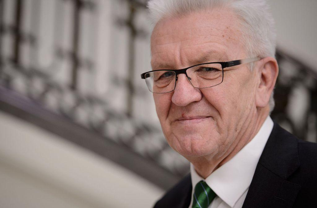 Winfried Kretschmann lädt zum Empfang in Stuttgart ein. Foto: dpa