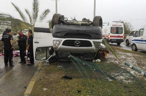 Drei Deutsche sterben bei Busunfall in der Türkei