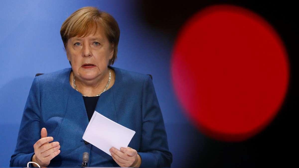 Teil-Lockdown beschlossen – Angela Merkel macht dicht
