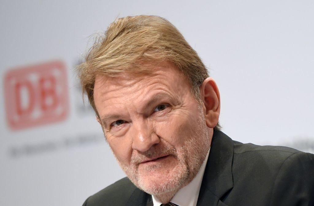 Volker Kefer ist Bahnvorstand für Infrastruktur und Dienstleistungen – und damit auch zuständig für das umstrittene Projekt Stuttgart 21. Foto: dpa-Zentralbild