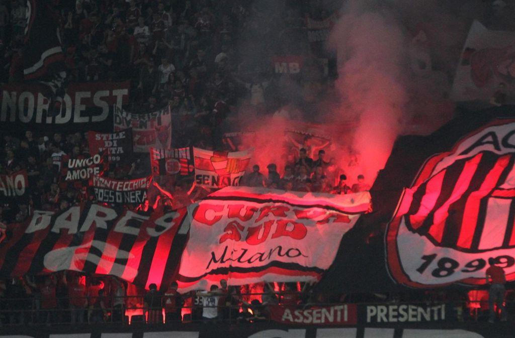 Der AC Mailand ist von der UEFA vom Europapokal ausgeschlossen worden. Foto: ANSA