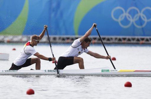 Rennkanuten holen Olympia-Gold im Canadier-Zweier