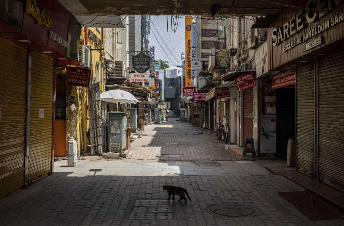 Eine Straße in Mumbai – in der Nähe der Metropole soll sich die Tat ereignet haben. (Archivbild) Foto: picture alliance/dpa/AP/Altaf Qadri