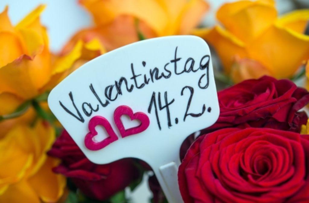 Am 14. Februar ist Valentinstag. Foto: dpa