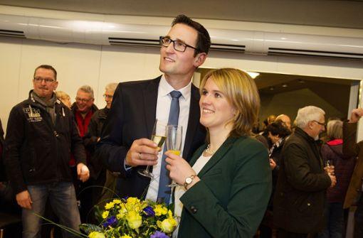 Ralf Barth stürmt das Denkendorfer Rathaus