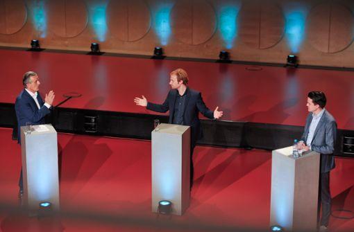 Der Dreikampf ums Stuttgarter Rathaus im Video
