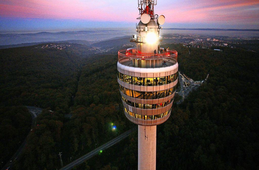 Nicht nur der Blick vom Turm, sondern auch auf ihn lohnt sich. Foto: dpa