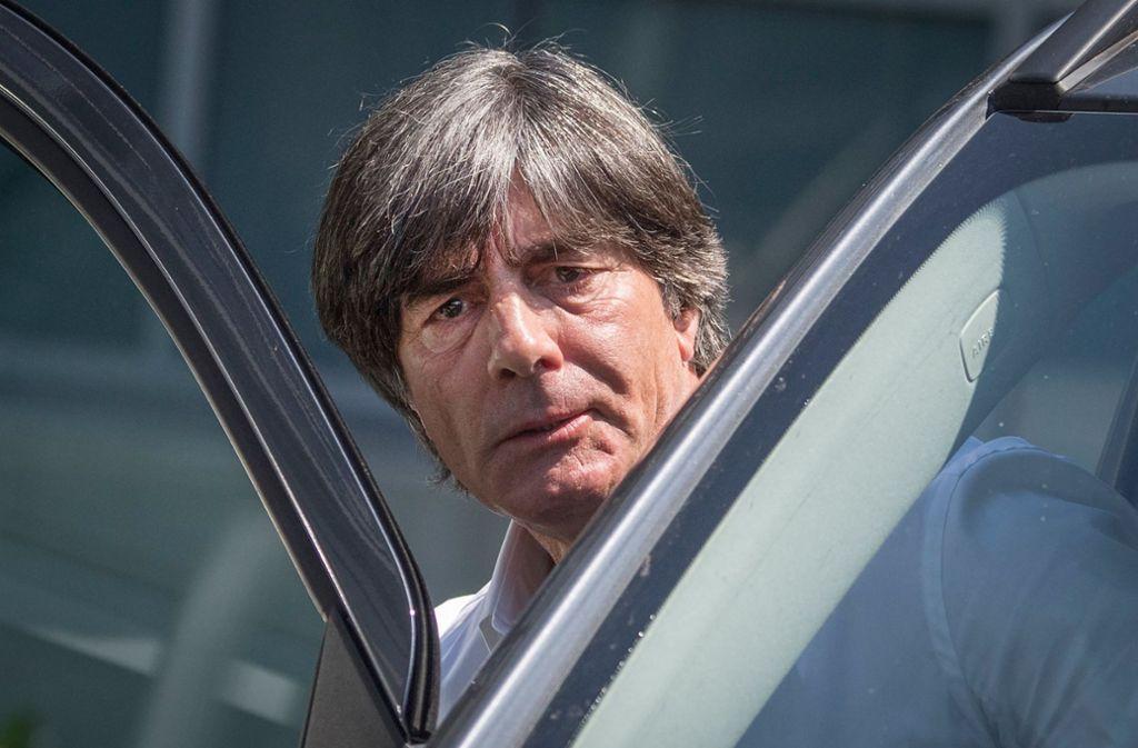 Zu Ergebnissen seiner WM-Aufarbeitung will der Bundestrainer keine Stellung nehmen. Foto: dpa