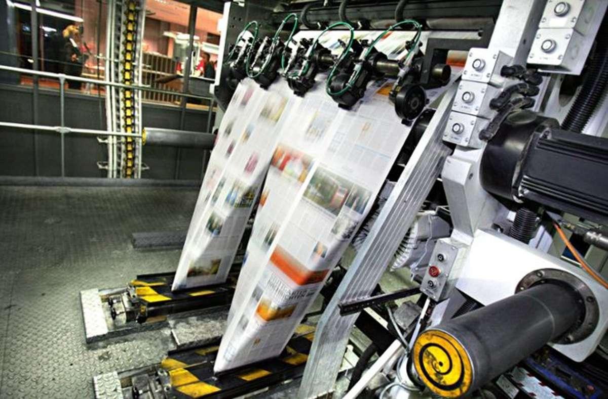 Am Freitagabend gab es leider ein Problem in der Druckerei. (Symbolbild) Foto: imago stock&people Quelle: Unbekannt