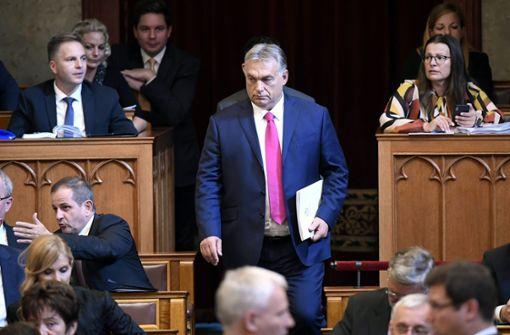 Konfliktscheu vor Orban