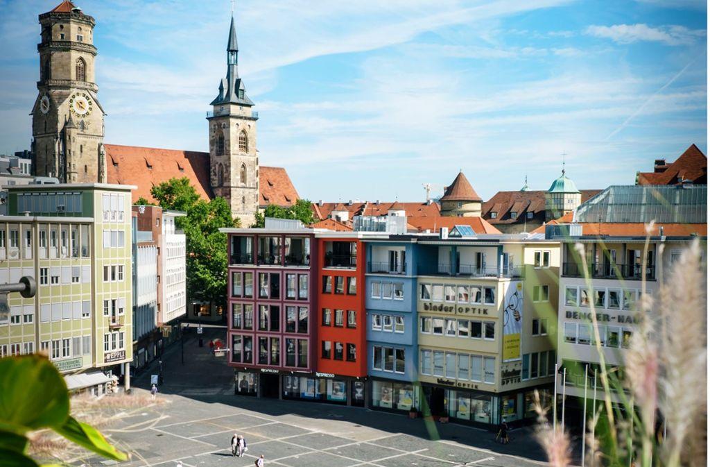 Der Stuttgarter Marktplatz soll neu gestaltet werden. Foto: Lichtgut/Achim Zweygarth