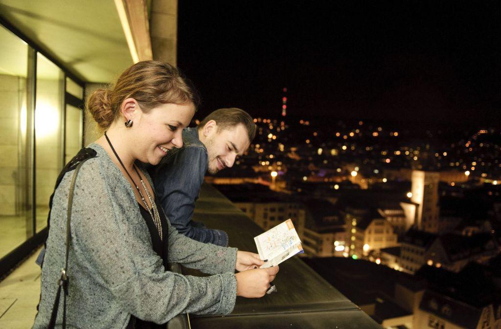 Die Stuttgartnacht bietet allen Interessierten viele Angebote. Am Besten plant man schon vorher, welche Veranstaltungen unbedingt besucht werden müssen. Foto: Stuttgartnacht