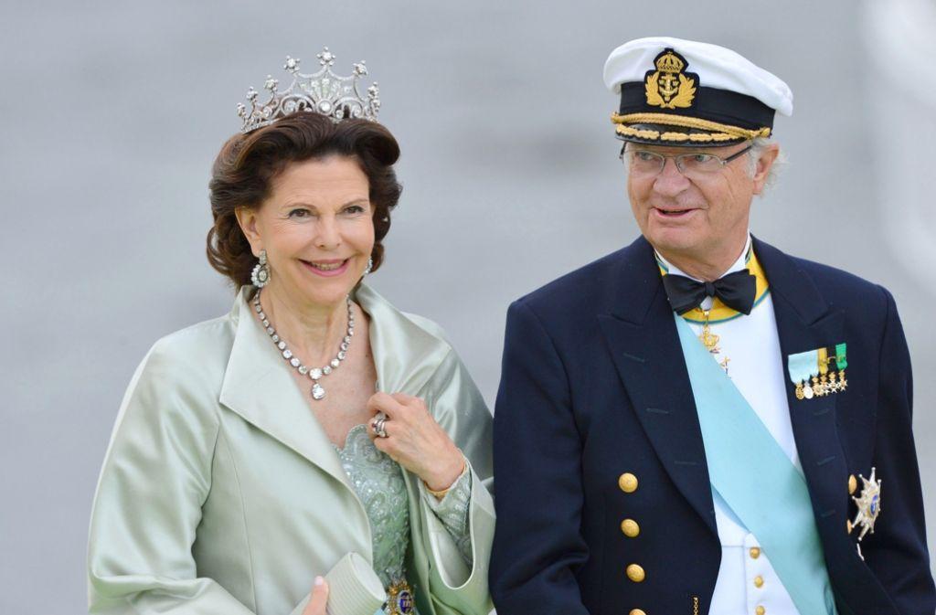 Gern gesehene Gäste: Carl Gustaf und Silvia von Schweden kommen zum Staatsbesuch nach Deutschland. (Archivfoto) Foto: dpa