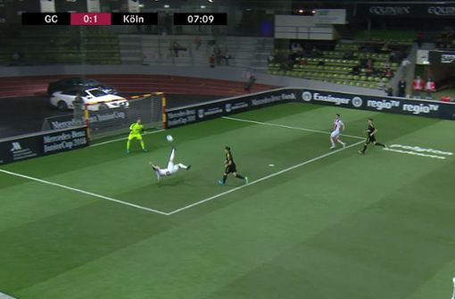 U19-Talent erzielt geniales Fallrückziehertor